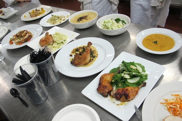 Dishes from the first Market Basket challenge