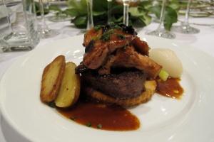 Tournedos Rossini for Escoffier dinner