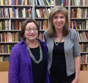 Prof. Mary Beaudry and Valerie Ryan
