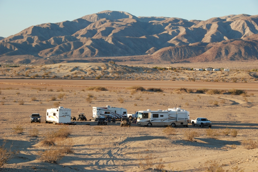 My family's camp at Ocotillo Wells SVRA